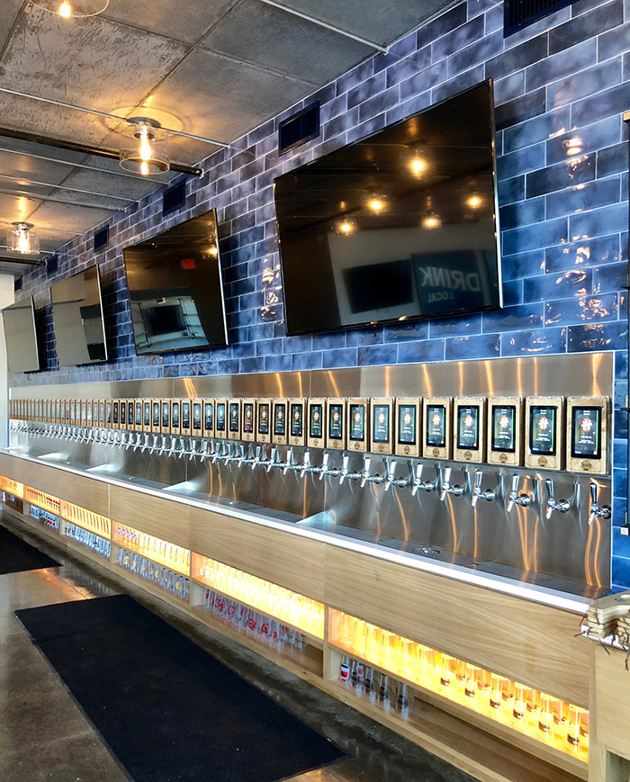 taps at taproom social uptown charlotte