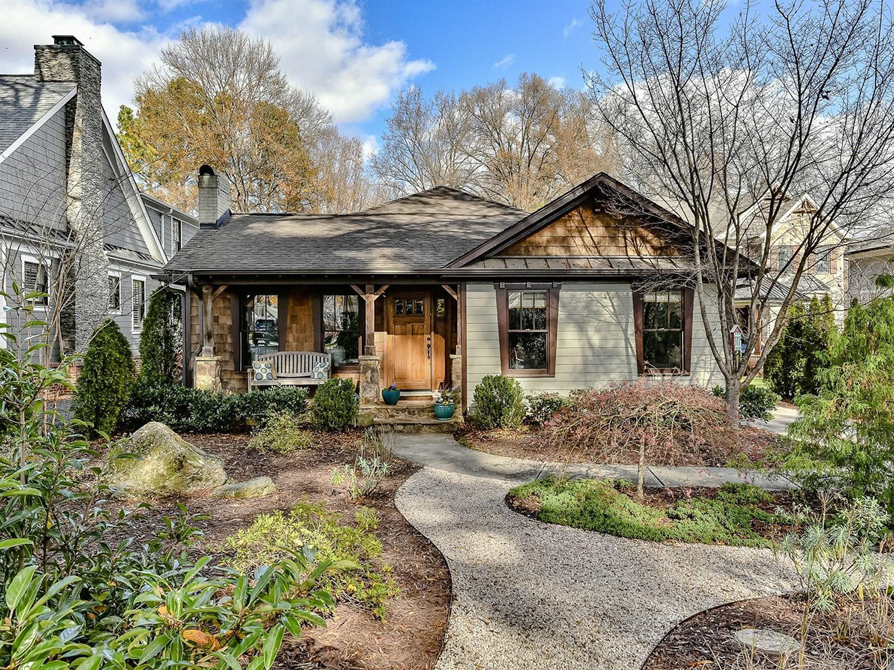 Unique to the neighborhood: Myers Park house with mountain vibes asks $774,000