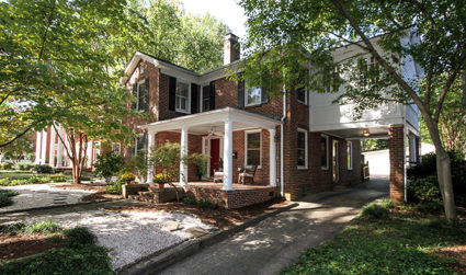 Historic home with picture perfect curb appeal