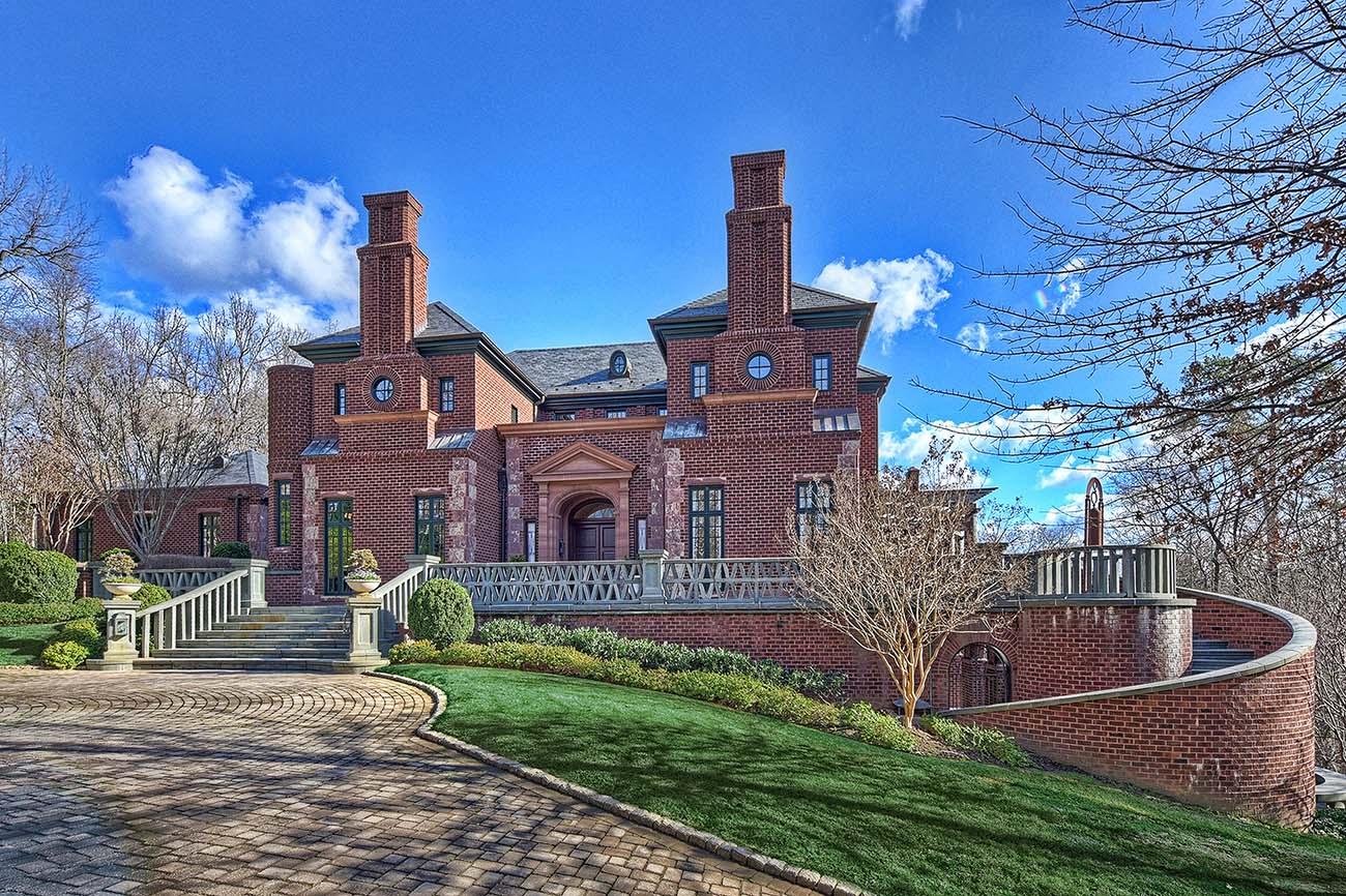 Luxury listing: SouthPark home with private gardens and tennis and bocce courts asks $4.5M