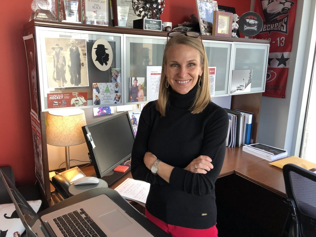 How I Work: 14 questions with Charlotte Checkers COO Tera Black