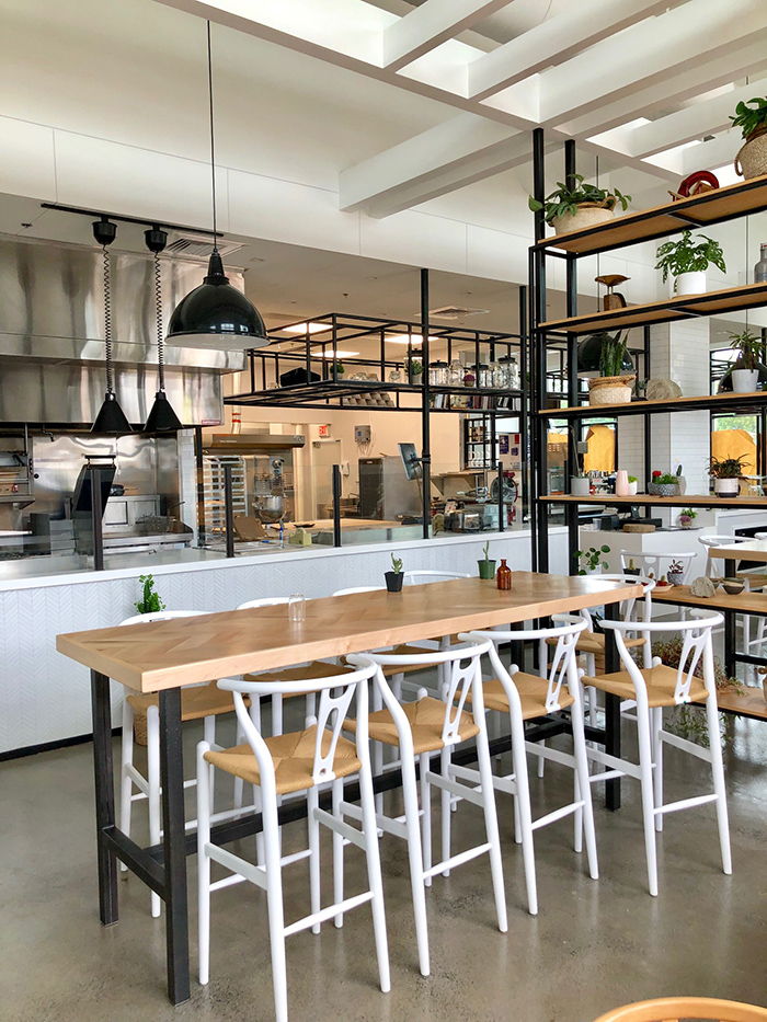 kitchen at eight and sand charlotte