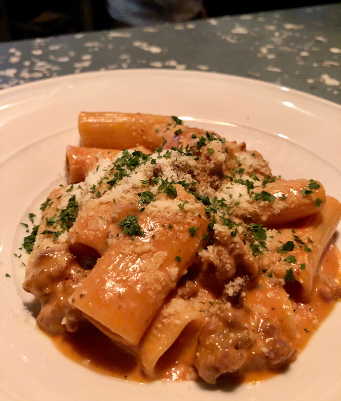 rigatoni from barrington's southpark