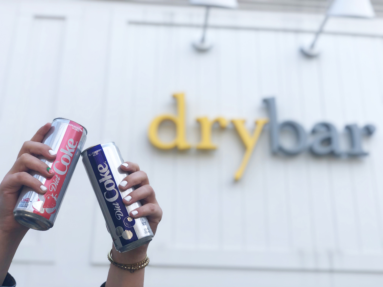 Enter to win two VIP tickets to our Agenda x Diet Coke x Drybar Pop-Up happening this Saturday