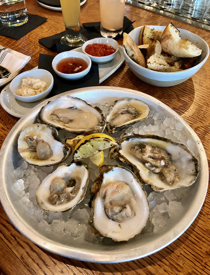oysters at the crunkleton charlotte