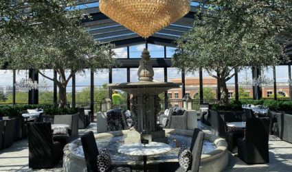 The massive, three-story RH Charlotte with rooftop restaurant now open in SouthPark