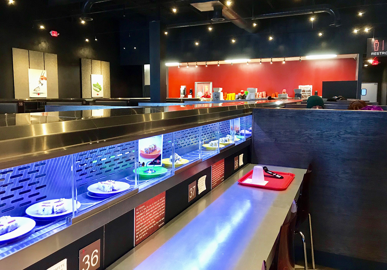 All-you-can-eat conveyor-belt sushi restaurant opening in Elizabeth