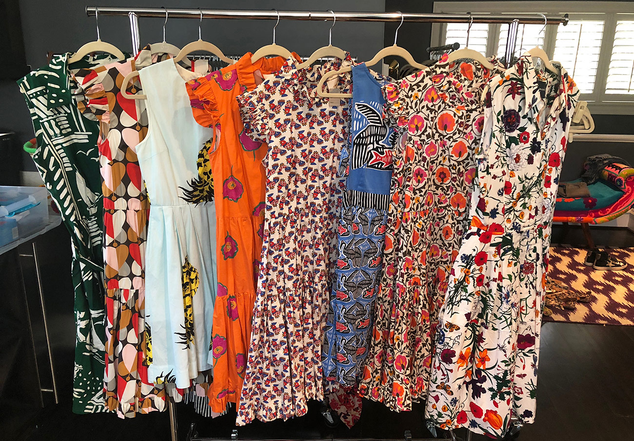 600 gently used designer pieces selling for deep discounts out of Myers Park home