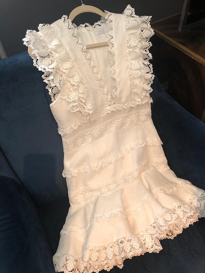 EDIT clothing sale white dress