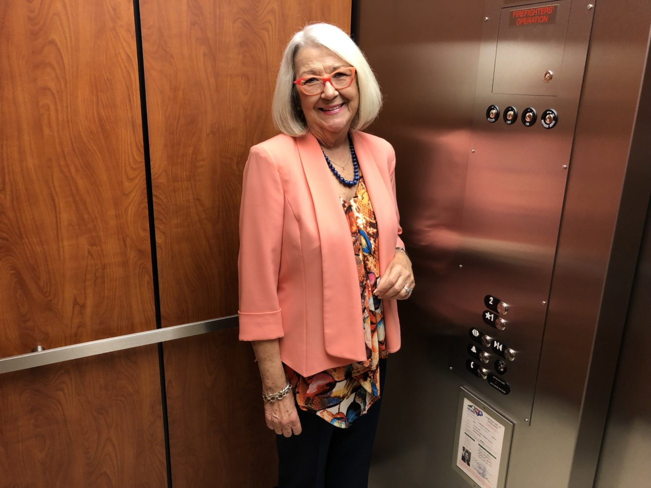 How I Work: 17 questions with Cherie Berry, the elevator lady