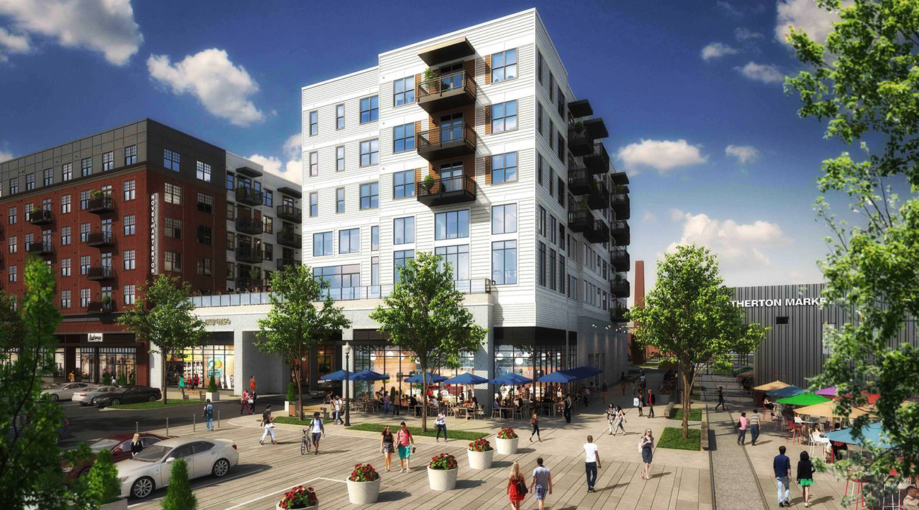 South End's Atherton development targeting mid-August completion — view list of restaurants and shops that'll open