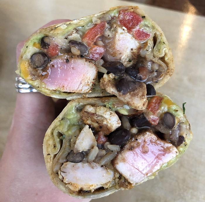 burrito at cabo fish taco charlotte