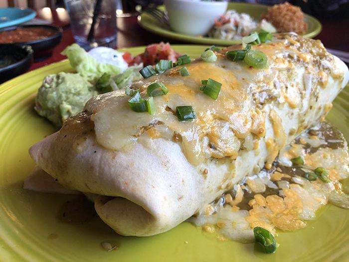 burrito at paco's tacos charlotte