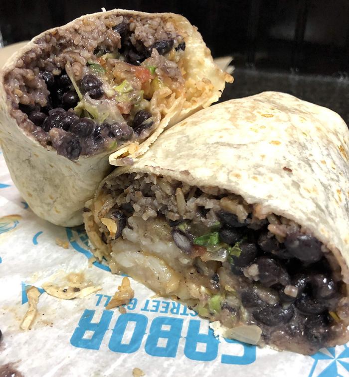 burrito at sabor in charlotte