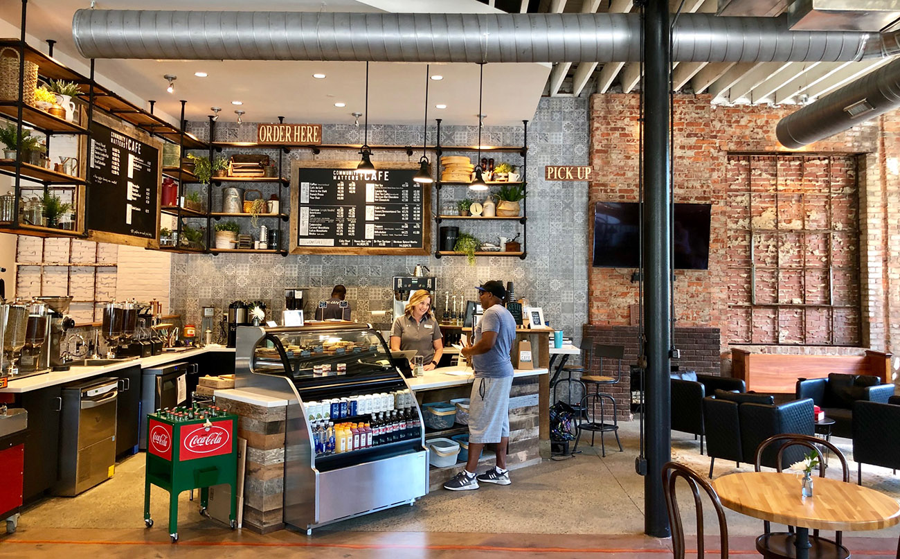 Now Open Community Matters Cafe Serving Breakfast Lunch