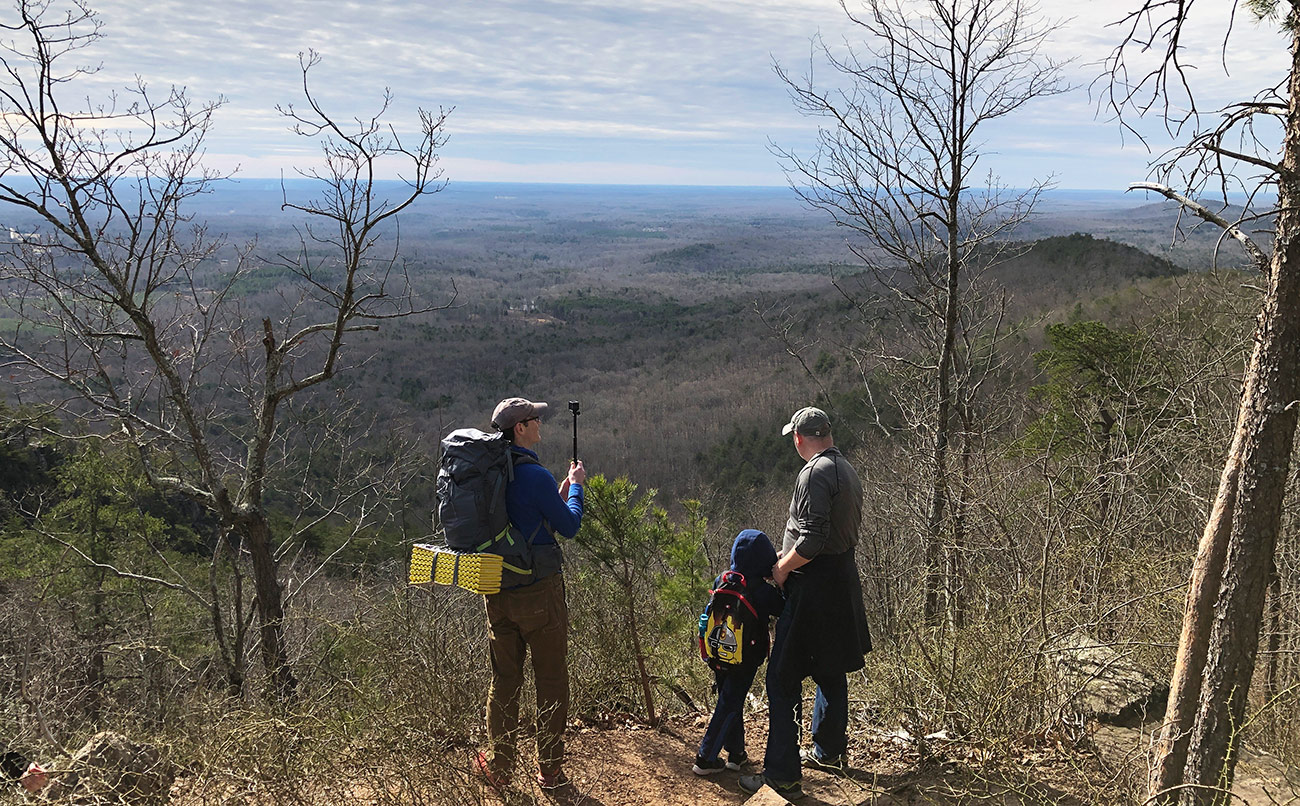 The 10 people you meet while hiking Crowders Mountain