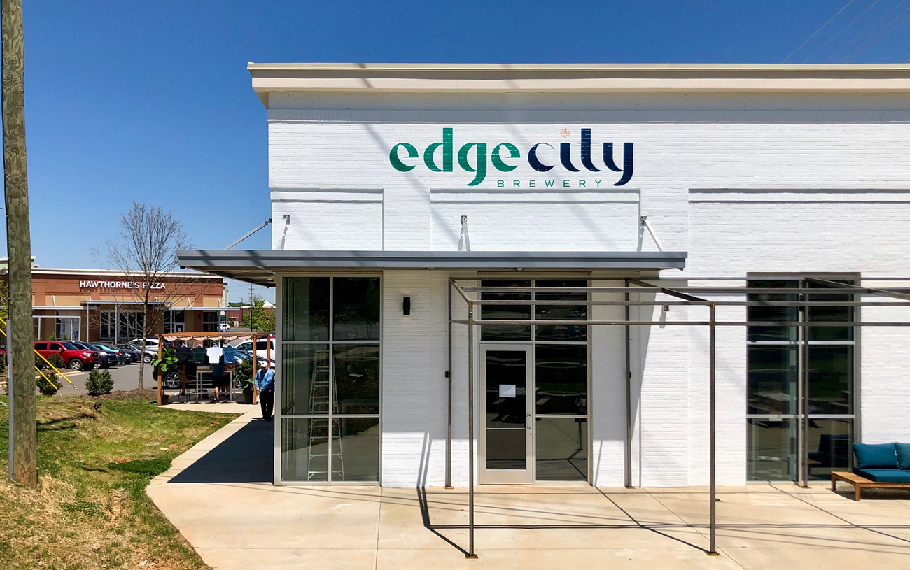 Edge City Brewery opens in the midst of a pandemic, selling growlers to go
