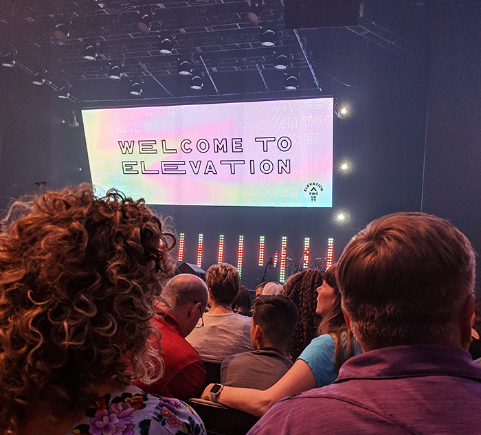 elevation church charlotte first time