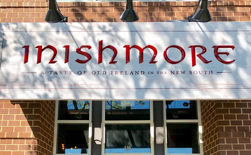 Go inside: Inishmore, an upscale Irish pub, opening in Dilworth — view menu