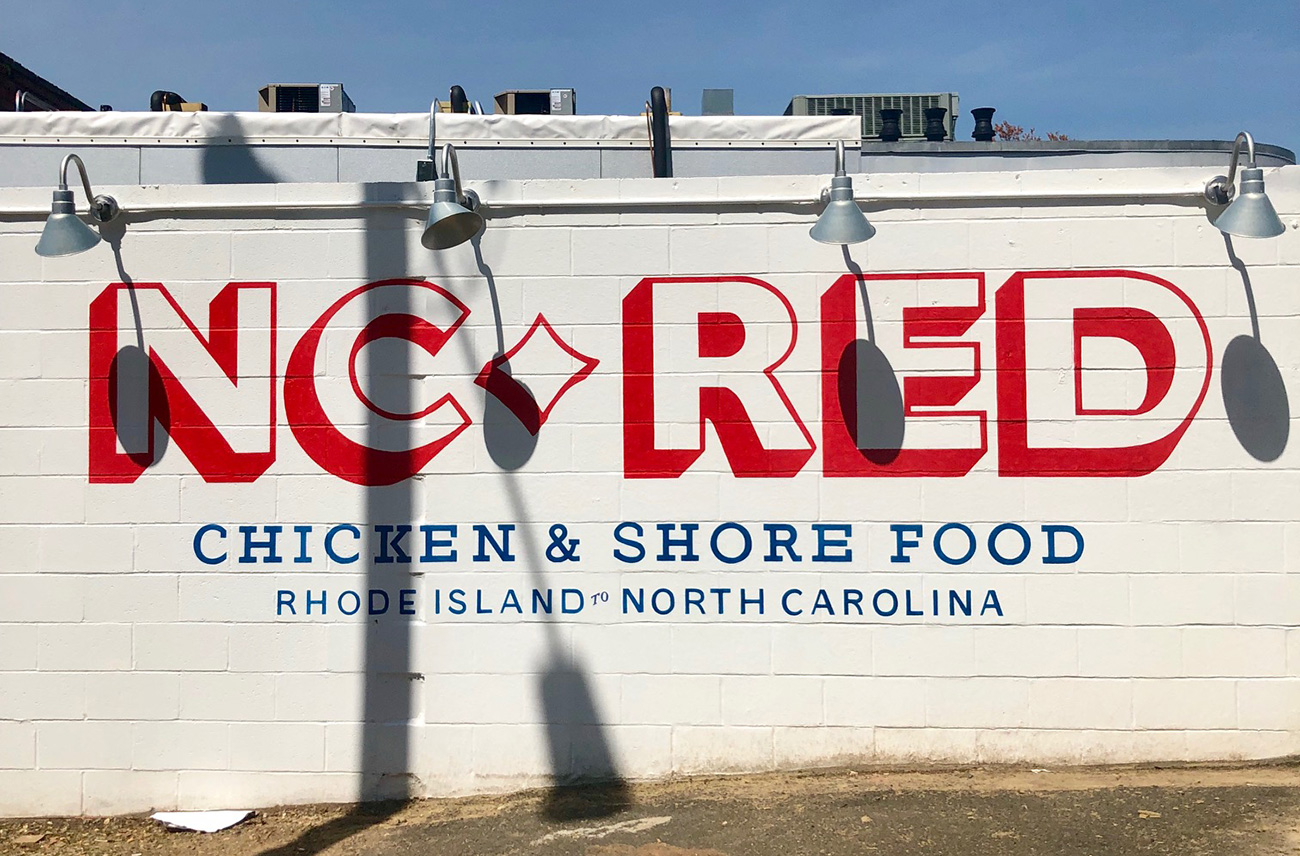 Go Inside: N C  Red, Bruce Moffett's new restaurant, now
