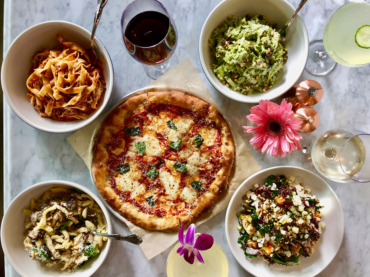 North Italia, The Cheesecake Factory-owned pizza and pasta chain, opens November 13 at South End's Railyard