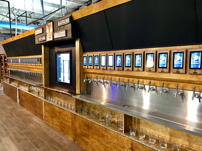 self serve taps coliseum v in charlotte
