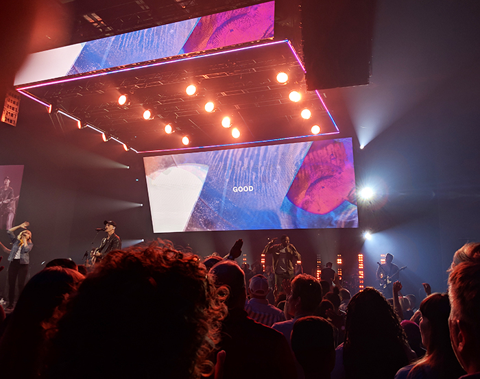 stage and music at elevation church