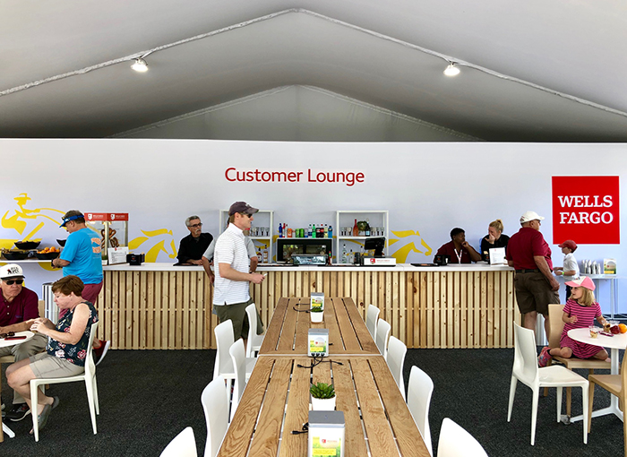wells fargo quail hollow customer lounge charlotte