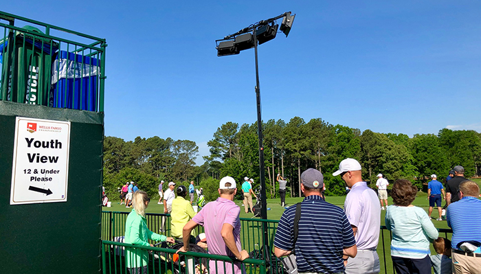 youth view driving range at quail hollow club