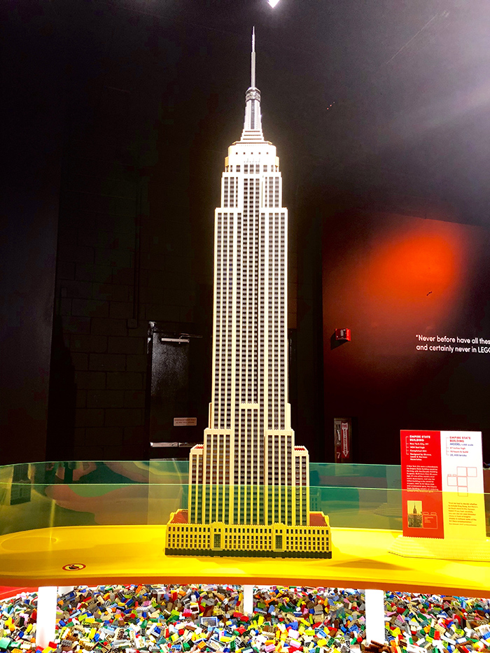 Discovery Place LEGO Empire State