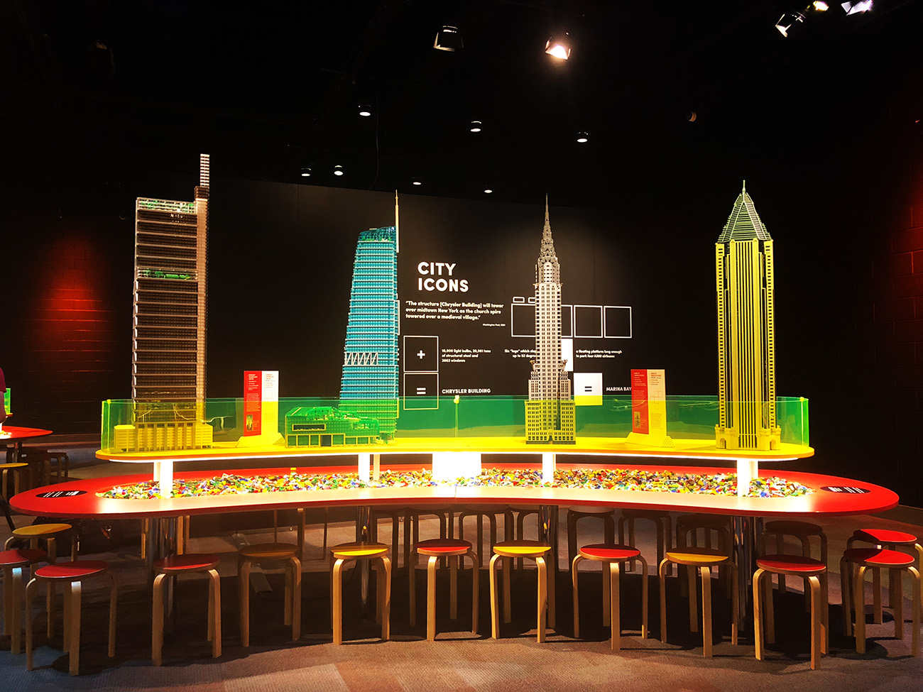 LEGO replicas of the world's tallest skyscrapers on display at Discovery Place Science through Sept. 2