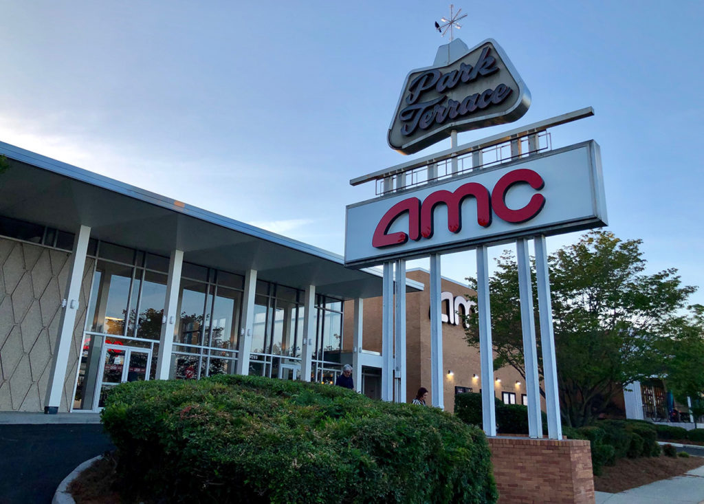 Go inside: AMC Theatre Park Terrace 6 reopens at Park Road Shopping Center and will soon serve cocktails