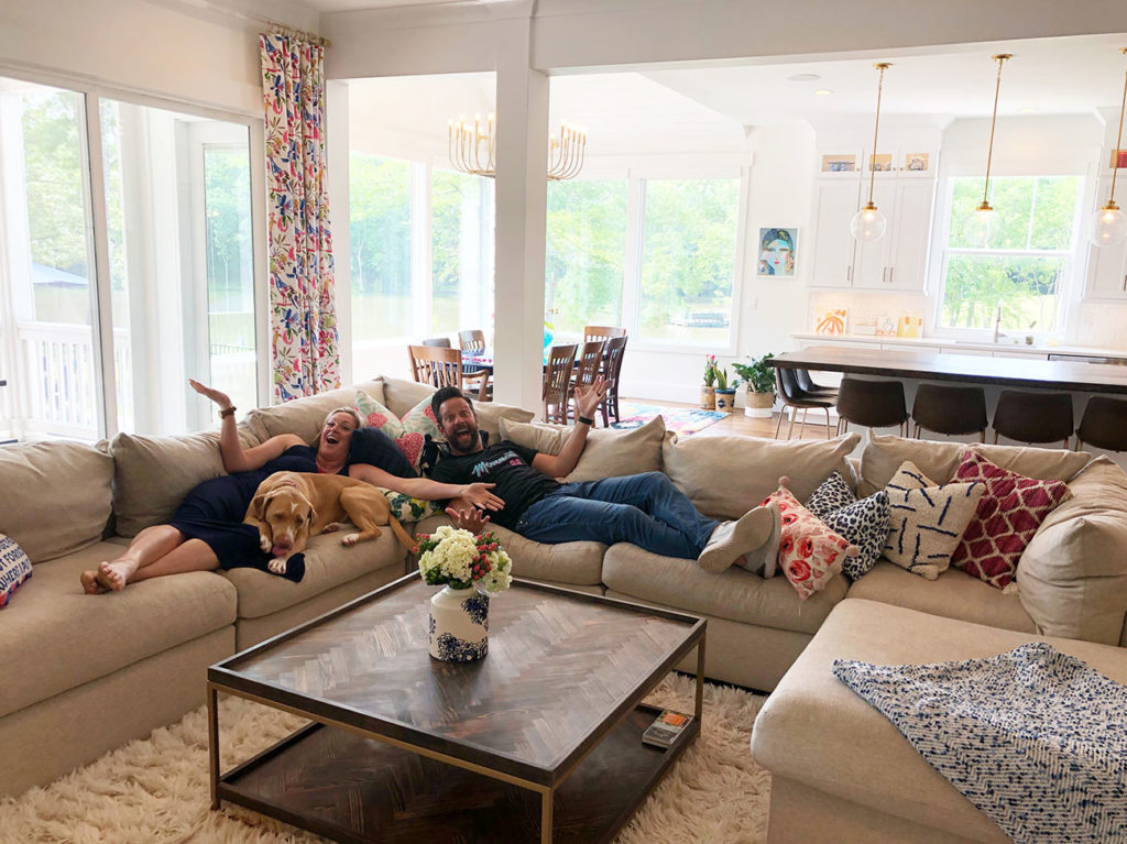 Inside power couple Jake and Page Fehling's perfectly curated home on the same street with 13 family members