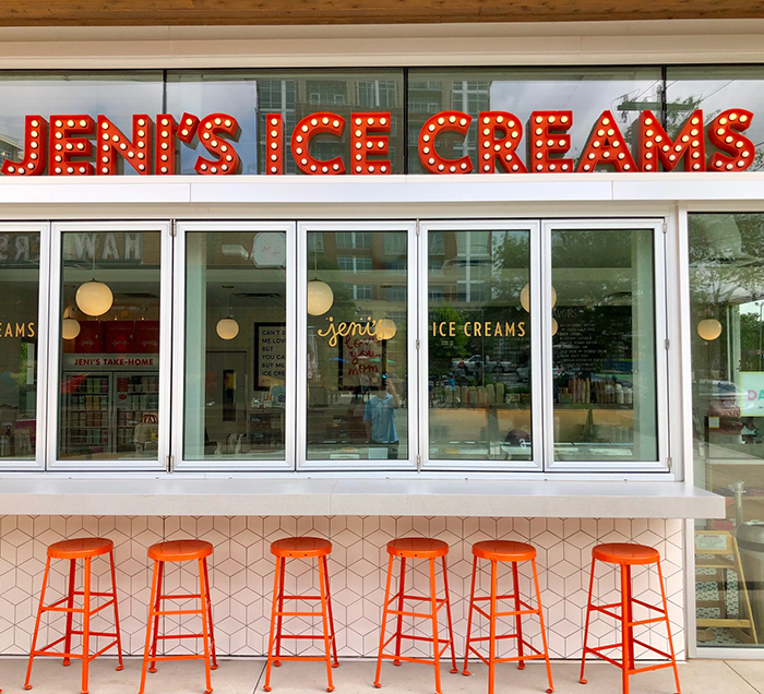 jeni's ice creams shop