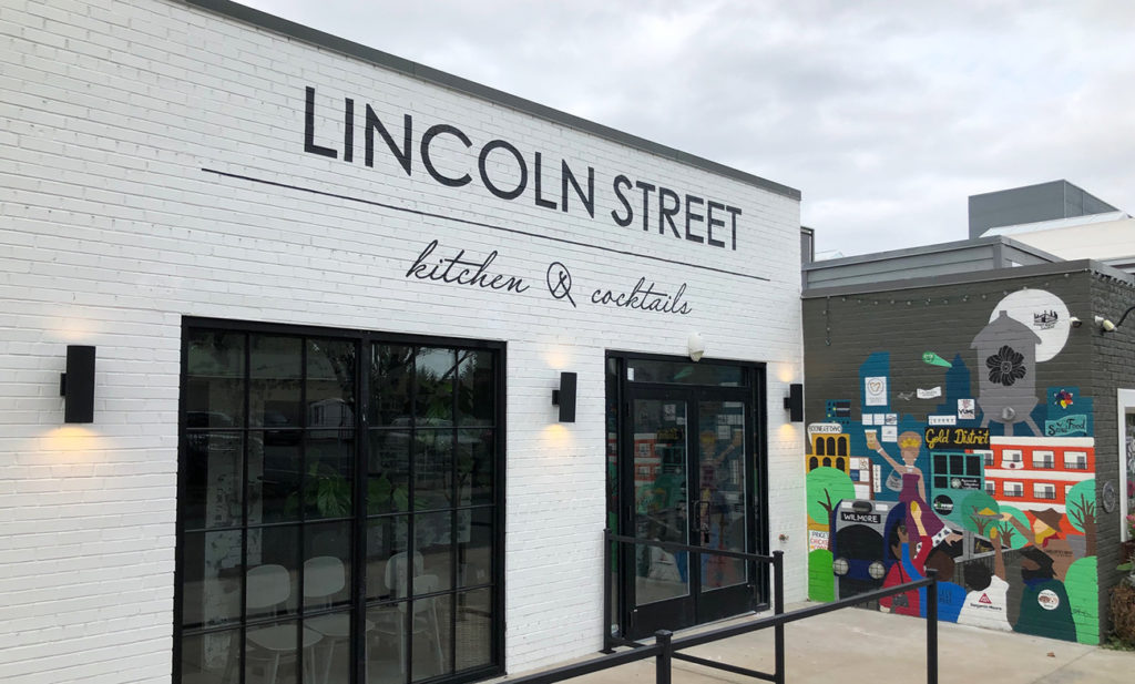 Lincoln Street opening October 18 next to Craft — will have 28-seat rooftop bar with a tree in the middle of it
