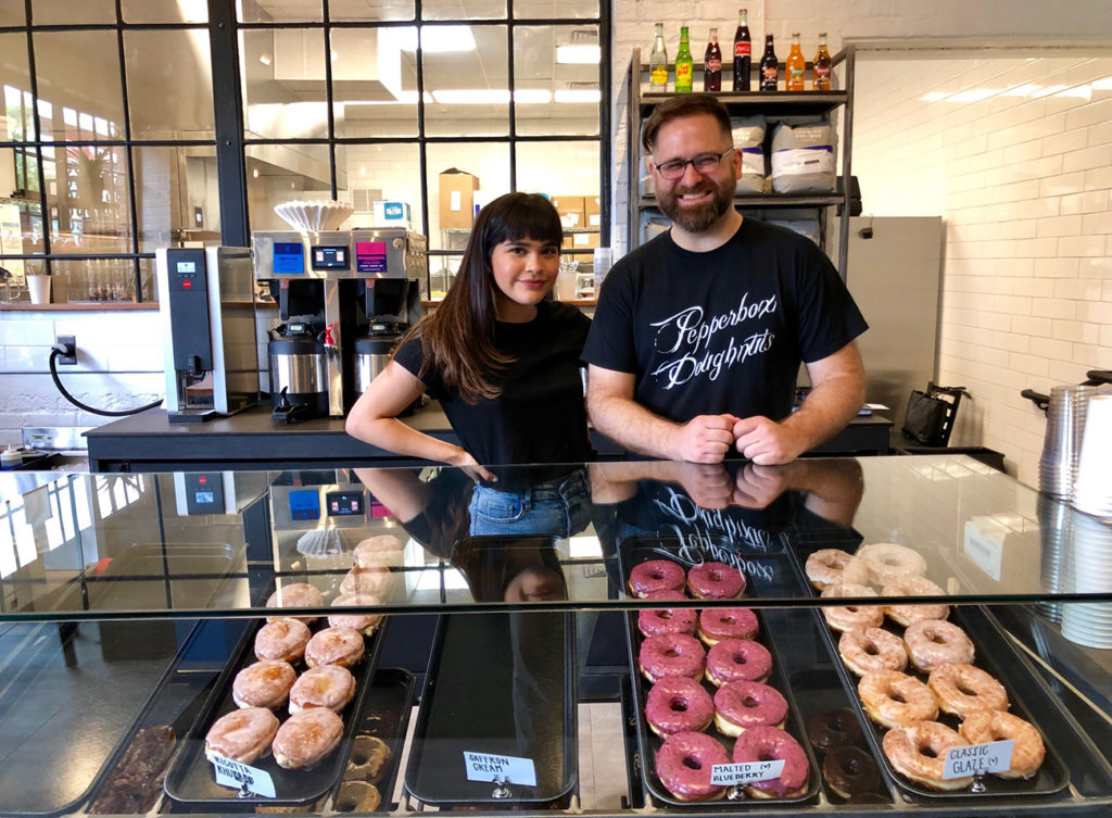 Go inside: Pepperbox Doughnuts now open in South End near Jeni's Ice Creams