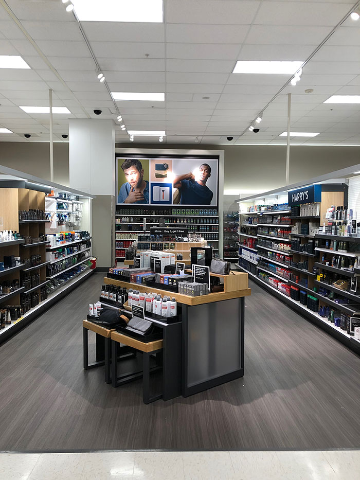 Target Midtown's redesign is complete and balance has been