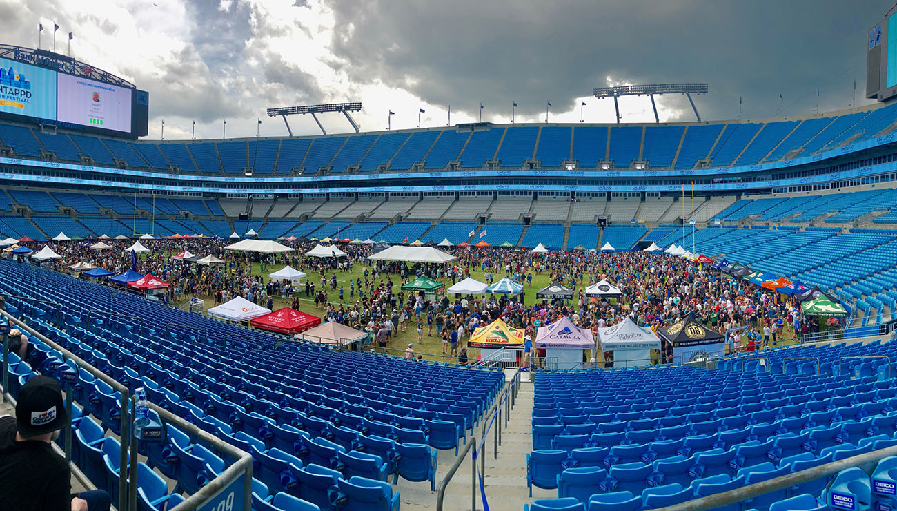 "What happened at the Untappd Beer Festival at Bank of America Stadium? ""We made some mistakes operationally"""