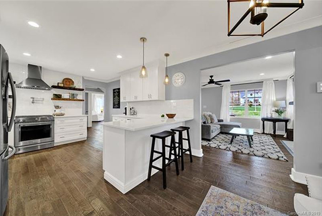 1412 N Sharon Amity Road open houses kitchen