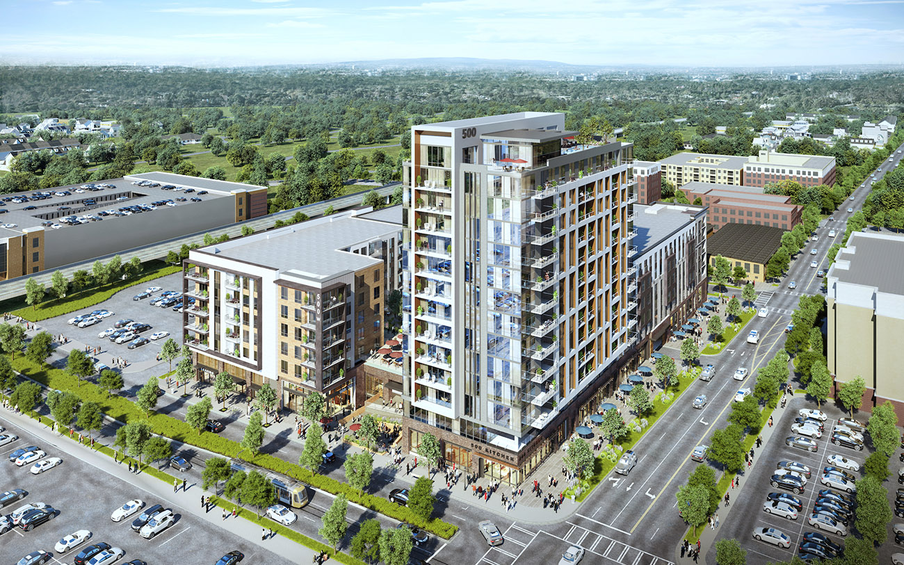 View renderings: New 354-unit luxury apartment community with two pools heading into Uptown