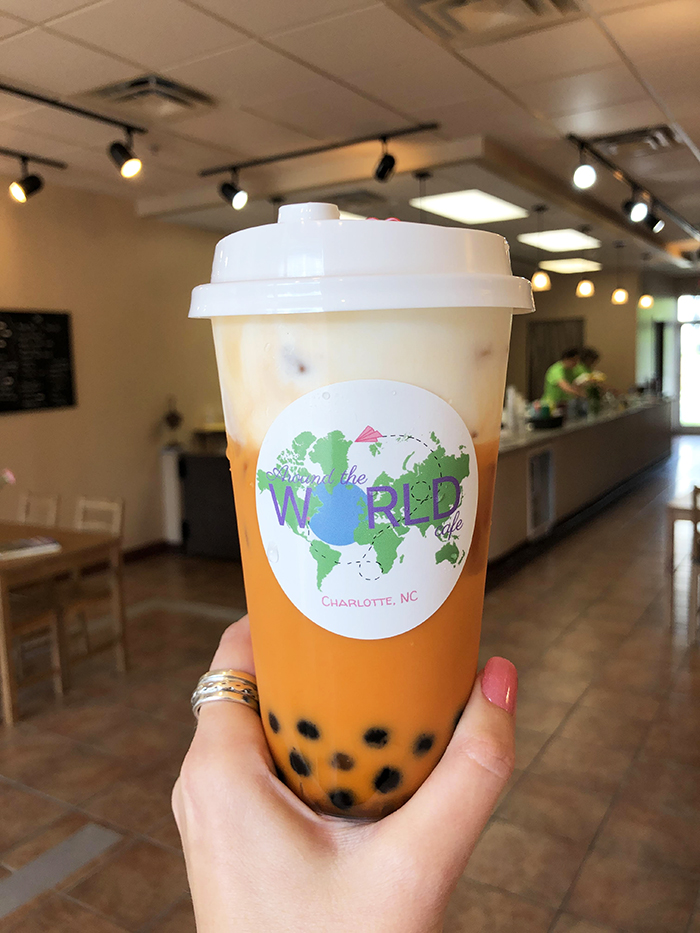 Around the World Cafe bubble tea