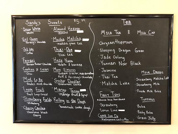Around the World Cafe menu