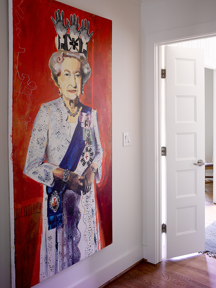 Bruce-Moffett-Home-Tour-Queen-Elizabeth-painting