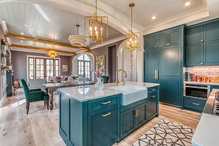 Home of the Year 2019 Finalist for Interior Design kitchen