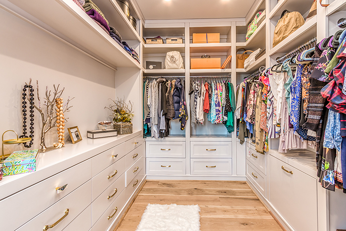 Home of the Year 2019 Finalist for Interior Design master closet