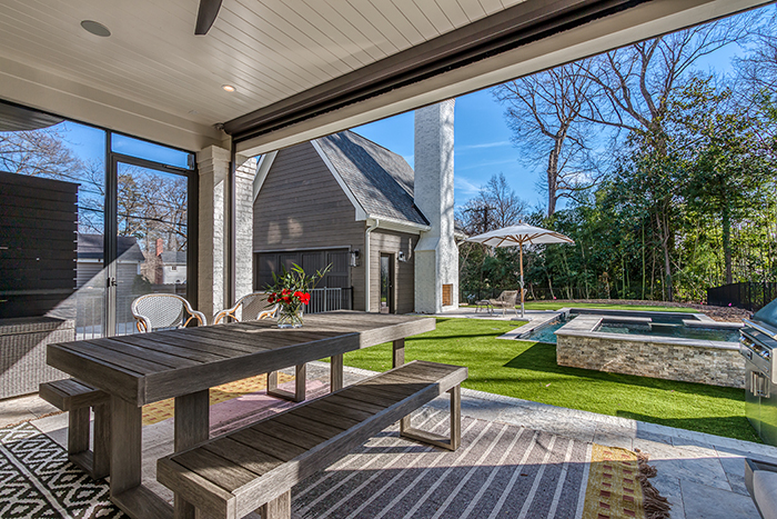 Home of the Year 2019 Finalist for Interior Design porch