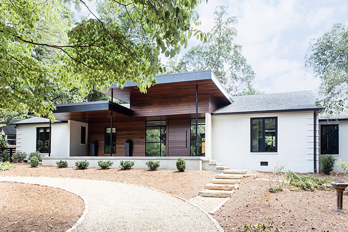 Home of the Year 2019 dramatic transformation front