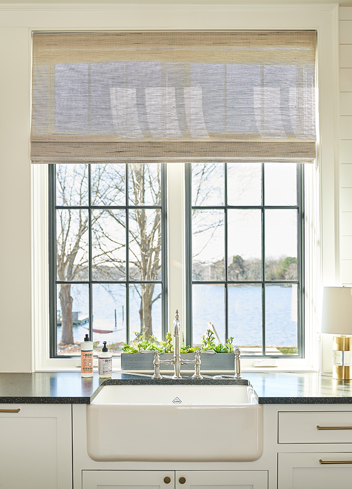 Home of the Year 2019 lakeside living kitchen lake view