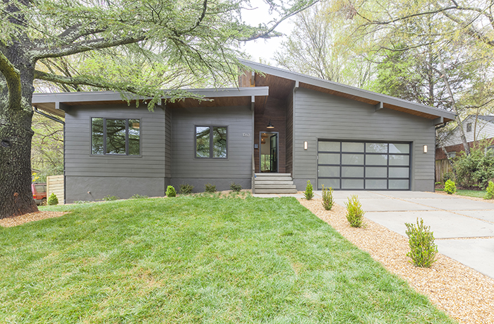 Home of the Year 2019 mid-century modern concept front