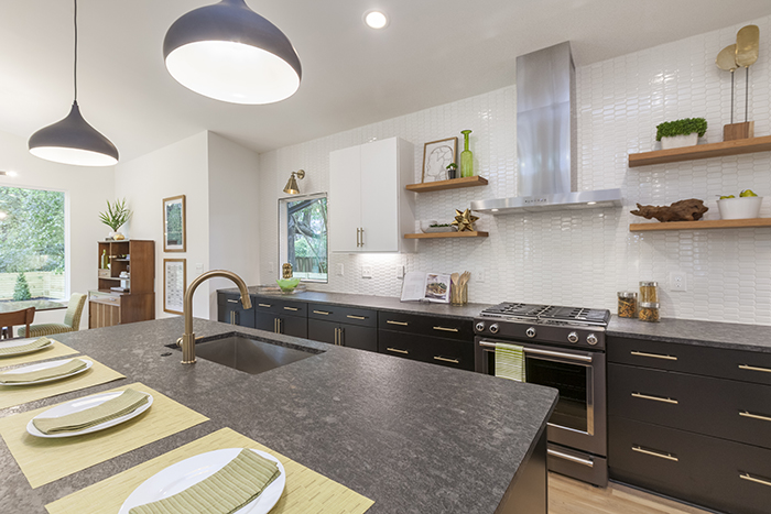 Home of the Year 2019 mid-century modern concept kitchen